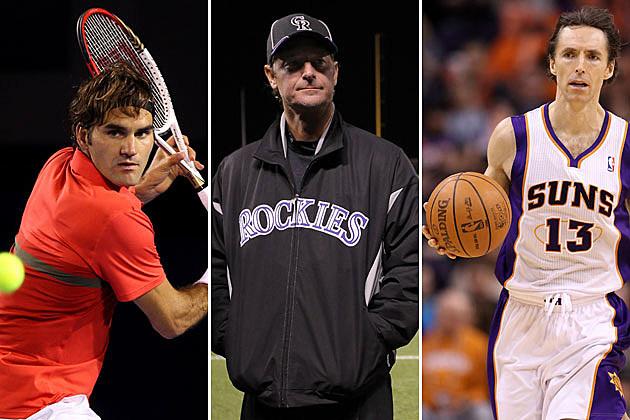 Roger Federer-Jamie Moyer-Steve Nash