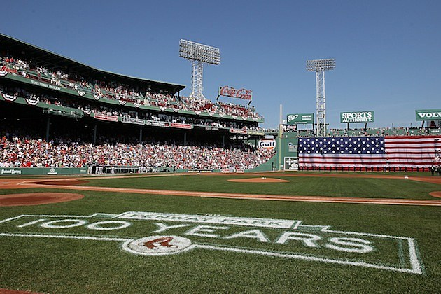 Fenway Park Boston Red Sox 100 years anniversary