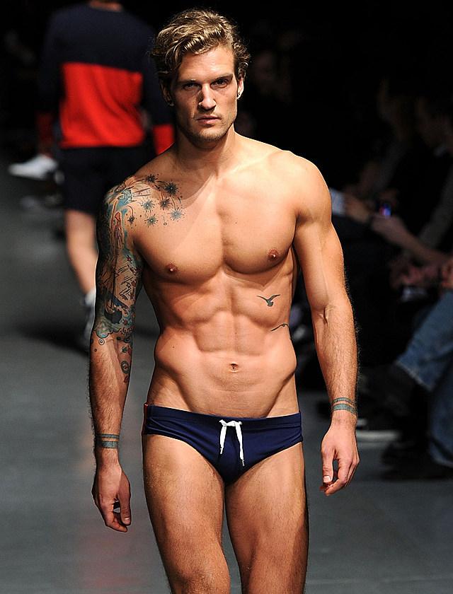 Parker Hurley male model
