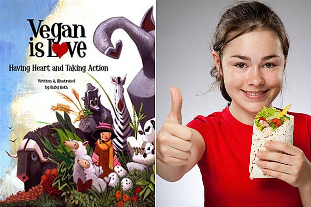 Vegan Is Love children's book