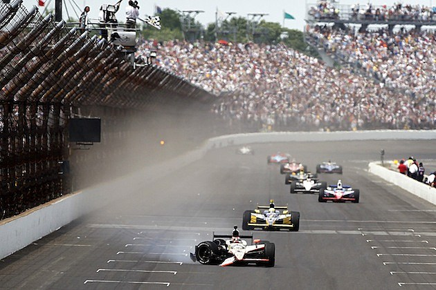2011 Indy 500 Finish