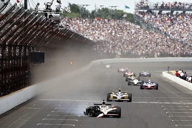 2011 Indy 500 Finish