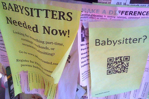 trained babysitters are in high demand