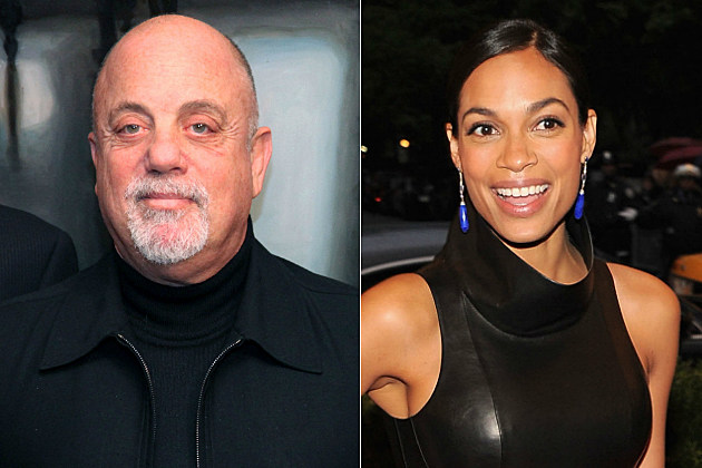 Billy Joel and Rosario Dawson celebrate birthdays on May 9