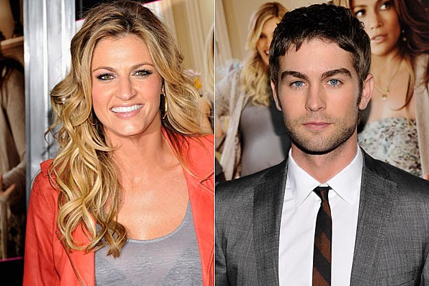 Erin Andrews and Chace Crawford