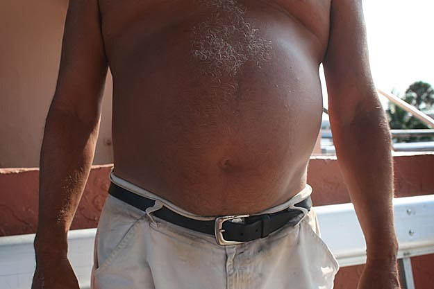 how to lose a hard beer belly