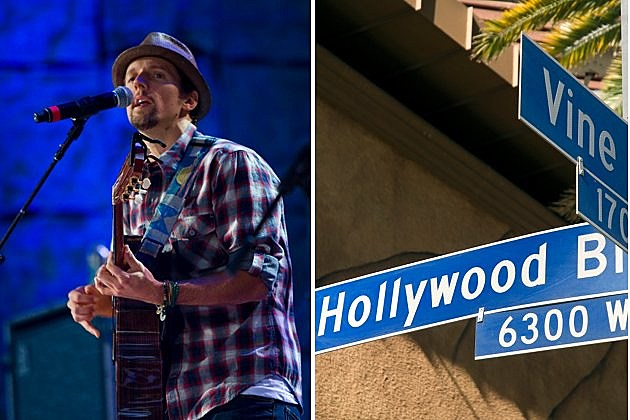 Jason Mraz in Hollywood