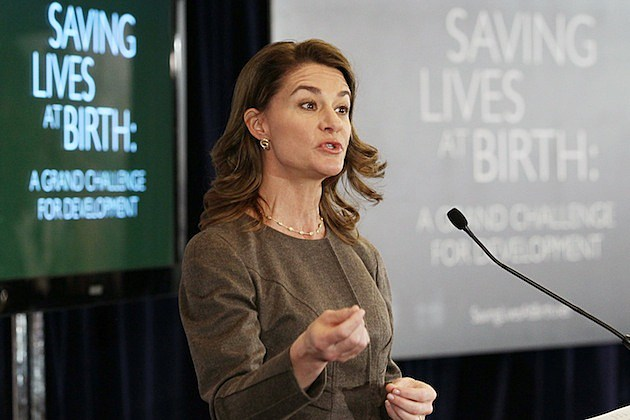 melinda gates Global Partnership On Maternal And Child Health