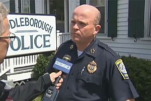 Middleborough Police Chief Bruce Gates