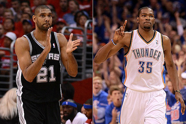2012 NBA Playoffs: Western Conference Finals Preview – San Antonio Spurs vs. Oklahoma City ...