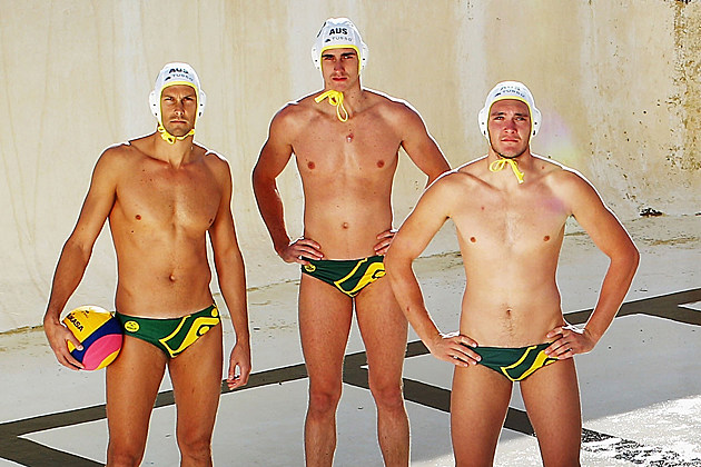 Australian Water Polo Team 2012 Olympics
