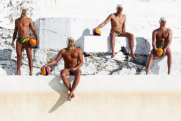 Australian Water Polo Team 2012 Olympics