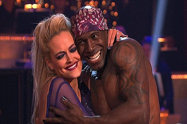 Donald Driver shirtless on 'DWTS'