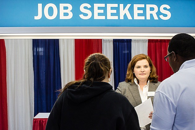 Career Fair Held For Members Of The Military