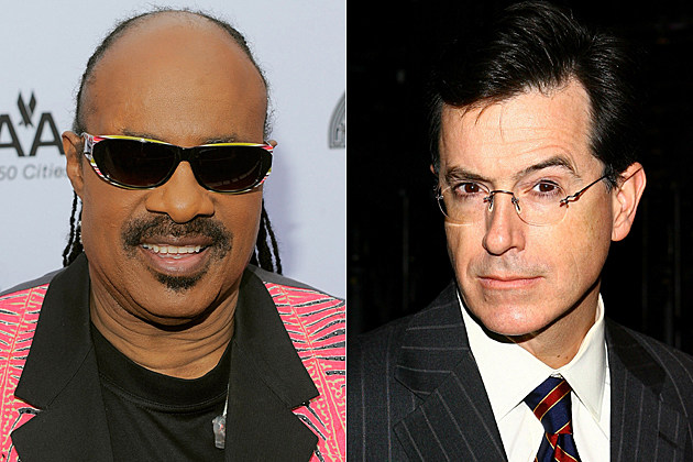 Stevie Wonder, Stephen Colbert
