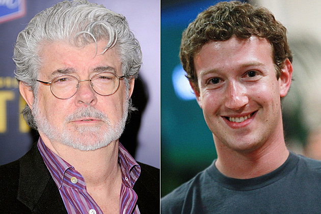 George Lucas, Mark Zuckerberg