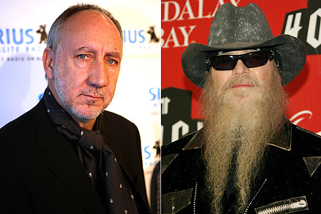 Pete Townshend, Dusty Hill