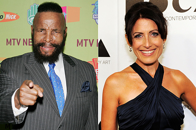 Mr. T, Lisa Edelstein
