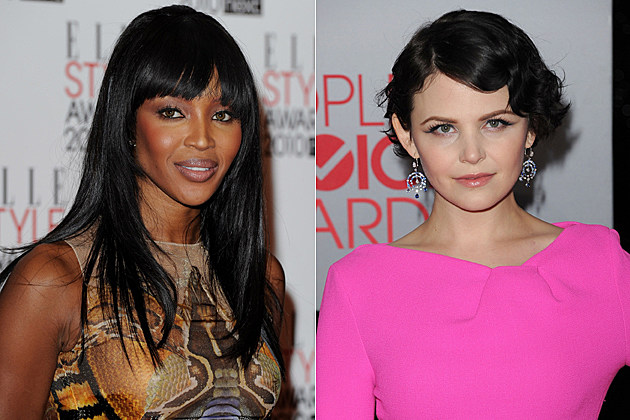 Naomi Campbell, Ginnifer Goodwin