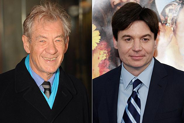 Ian McKellen, Mike Myers