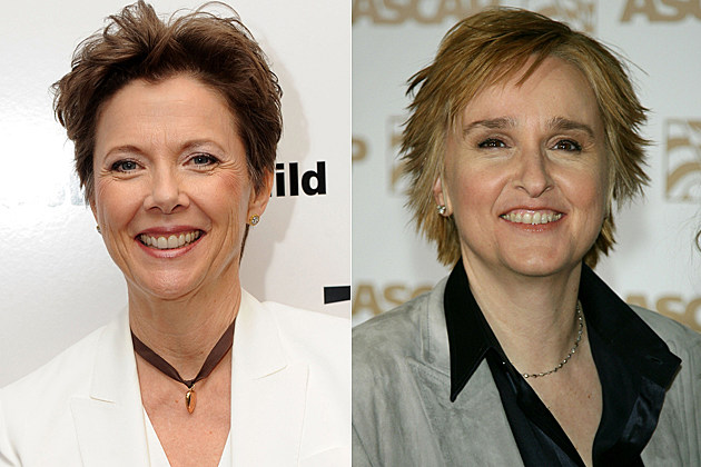 Annette Bening, Melissa Etheridge