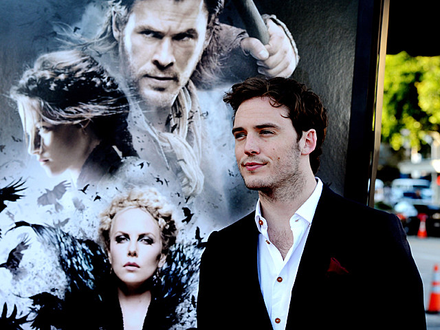 Sam Claflin at the 'Snow White and the Huntsman' premiere