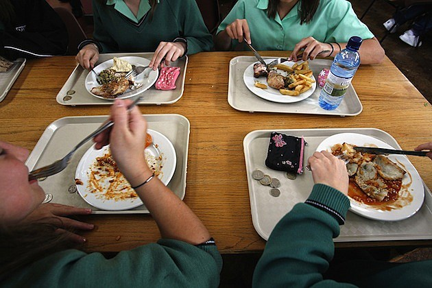 school lunch cafeteria gross