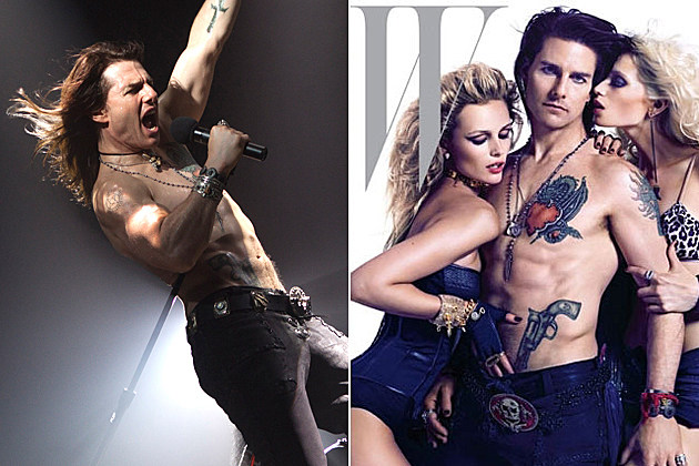 Tom Cruise's 'Rock of Ages' W Magazine Cover