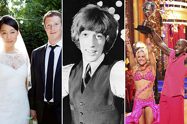Week in Pictures - Zuckerberg, Robin Gibb, 'DWTS'