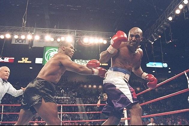 Tyson Bites Holyfield