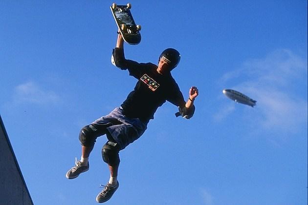 Tony Hawk jump