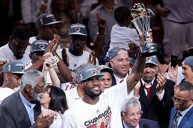 LeBron James Champion