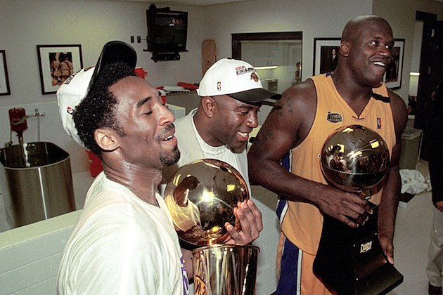 Lakers Win 2000 NBA Finals