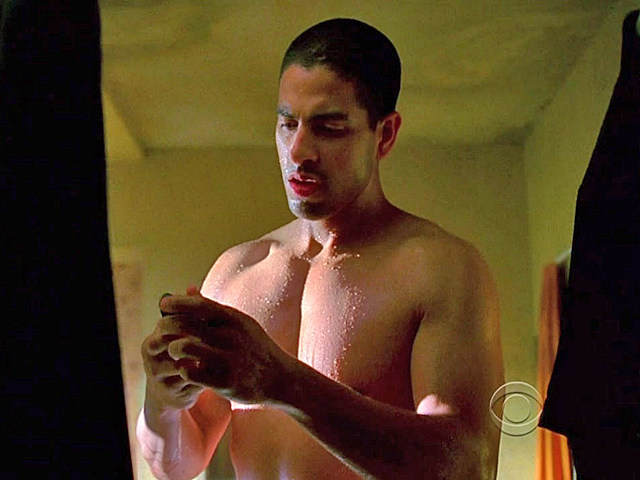 Adam Rodriguez shirtless in 'CSI: Miami'