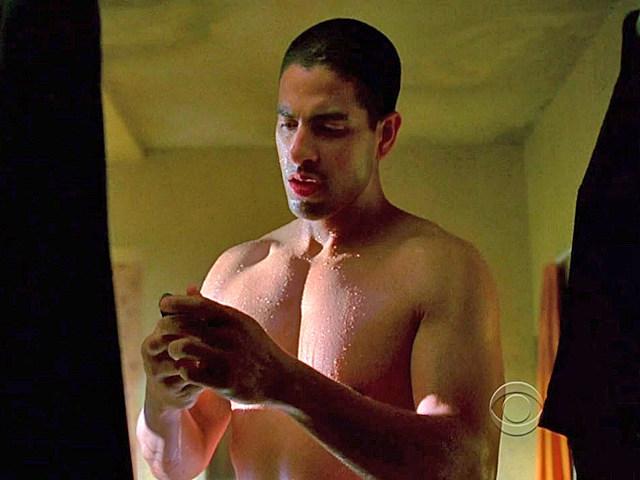 Adam Rodriguez shirtless in 'CSI: Miami'
