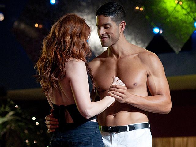 Adam Rodriguez shirtless in 'Magic Mike'