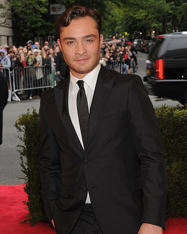 Woah! Ed Westwick's a Male Model Now? – Hunk of the Day ... Ed Westwick Now