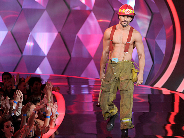 Joe Manganiello shirtless - MTV Movie Awards