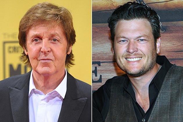 Paul McCartney, Blake Shelton