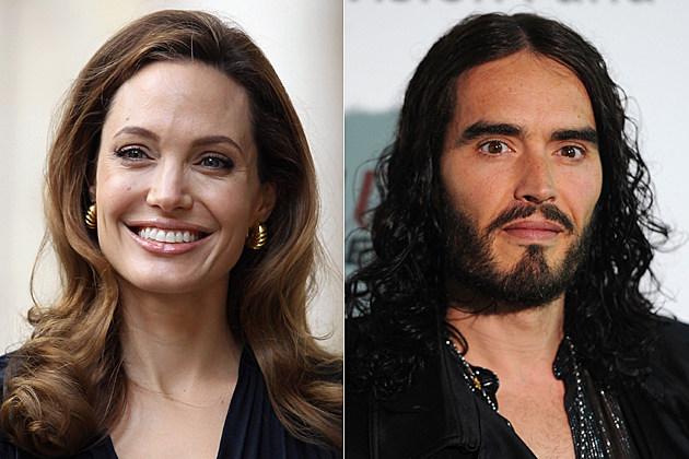 Angelina Jolie, Russell Brand
