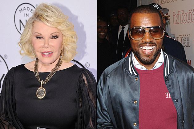 Joan Rivers, Kanye West