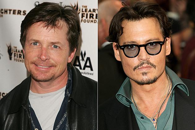 Michael J. Fox, Johnny Depp