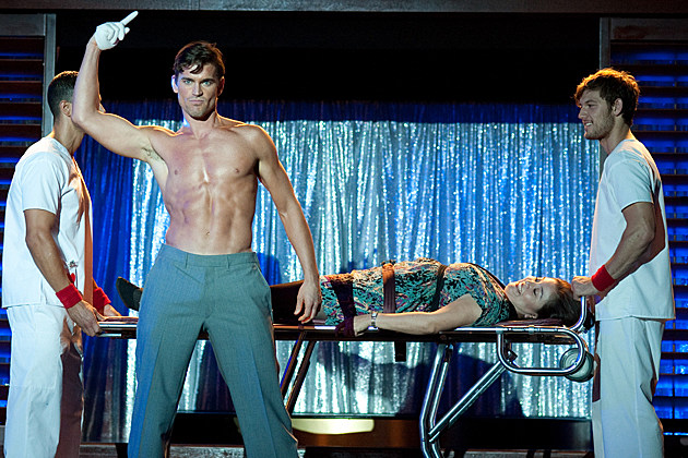 Matt Bomer shirtless in 'Magic Mike'