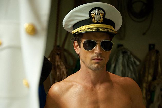 Matt Bomer shirtless in 'Magic Mike'