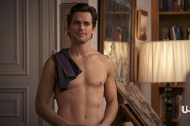 Matt Bomer Shirtless in 'White Collar'