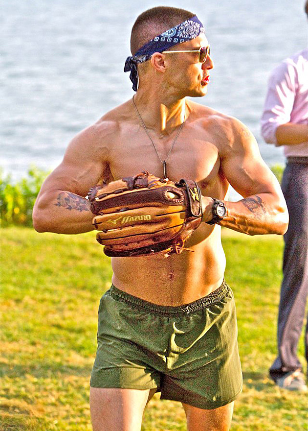 Milo Ventimiglia shirtless in 'That's My Boy'