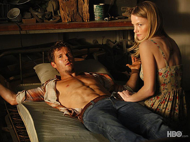 Ryan Kwanten shirtless in 'True Blood'