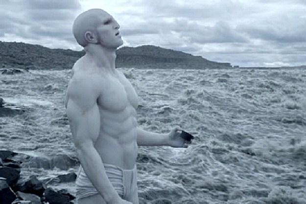 Sacrificial Engineer in 'Prometheus'
