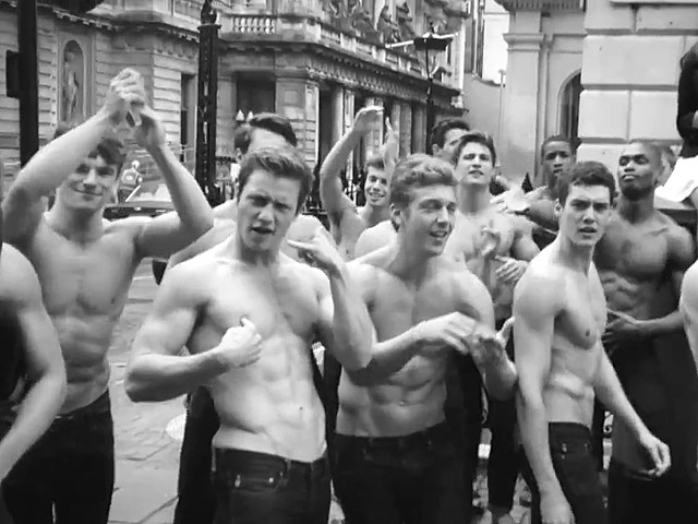 "Shirtless Abercrombie Models Sing ""Call Me Maybe"""