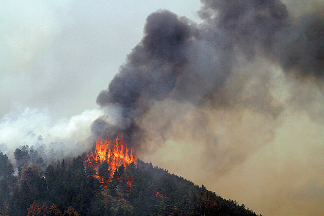 Wildfire in Colorado
